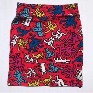 Keith Haring Forever 21 Skirt